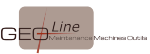 Logo de GEO-Line, maintenace machines outils